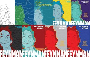 Colleen V's Feynman covers