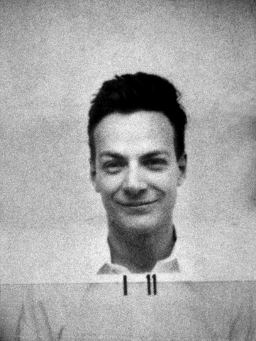 Feynman's Manhattan Project I.D. Photo.
