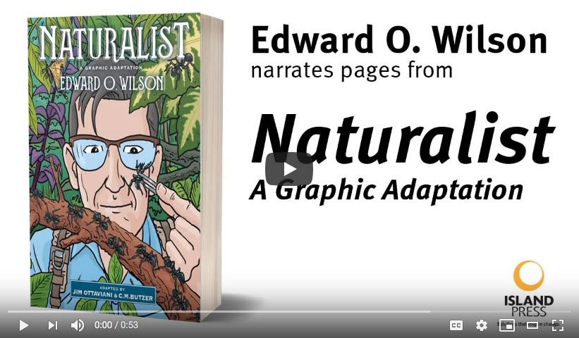 E.O. Wilson reads NATURALIST